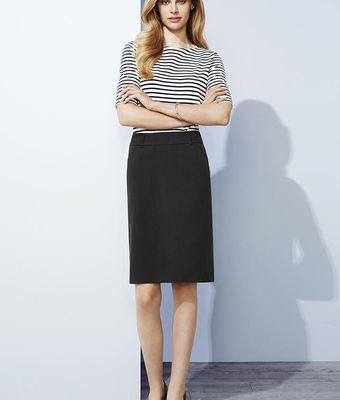 Cool Stretch Multi Pleat Skirt