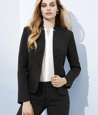 Cool Stretch Reverse Lapel Jacket