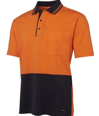 Cotton Hi Vis Polo