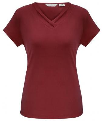 Latest Additions Red Ladies Corporate Uniforms Detail View