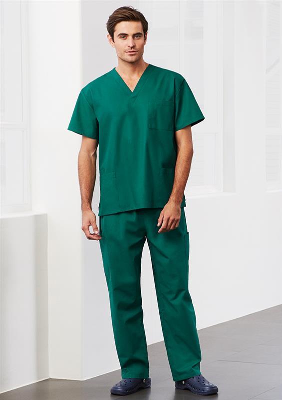 Unisex scrub top and pant h10612 h10610 uniform for Spa uniform nz
