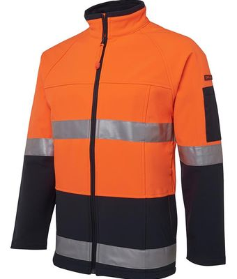 Hi Vis D+N Soft Shell Jacket