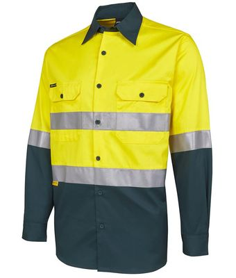 Hi Vis D+N Work Shirt