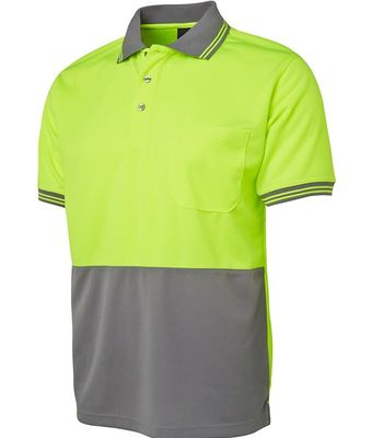 Hi Vis Polo Short Sleeve