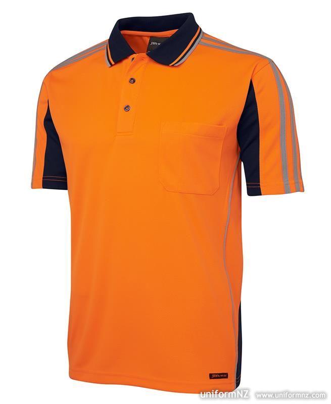 Hi Vis Arm Tape Polo 6at4s Uniform