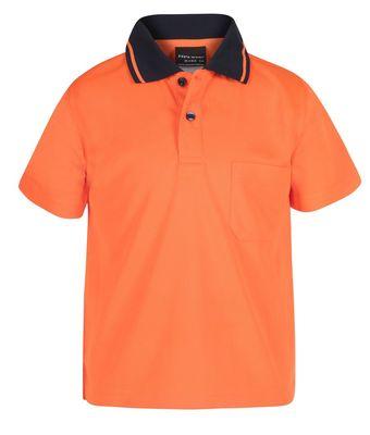 Hi vis polo shirts uniforms gallery view for Work uniform polo shirts
