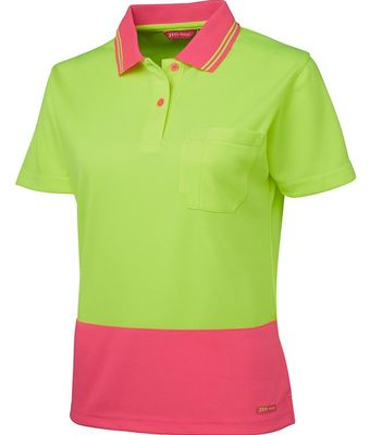 Ladies Hi Vis Polo