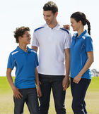 View Unisex United Polo Uniform Details